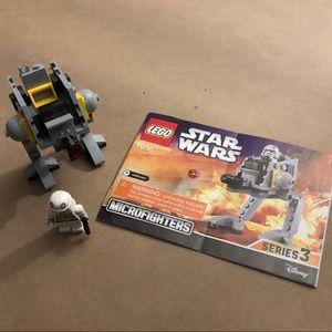 LEGOS Star Wars Microfighters. Like new!